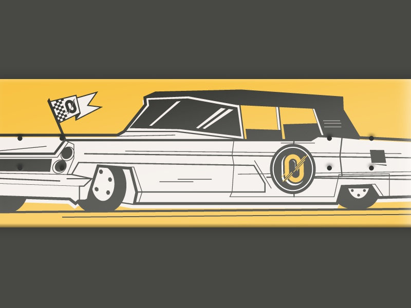 36 days of type - 0 typography oldtimer car skateboarddesign skateboarding font illustration graphic skateboard 0 36 days of type vector