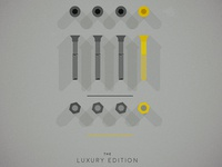 The luxury edition hardware set