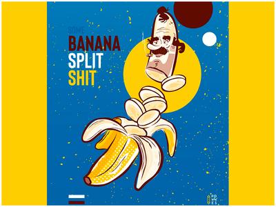 Some banana split shit