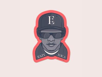 Eazy-E sticker