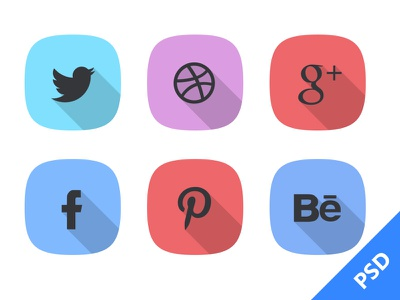 Social Icon social icon freebie