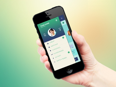 iPhone iphone ios profile menu