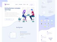 Landing Page  |  Binbytes Redesign