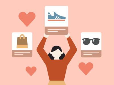 Online shopping illustration business illustration vector vector illustration online illustration mobile app illustration 插画 插画设计 插图 app illustration illustration