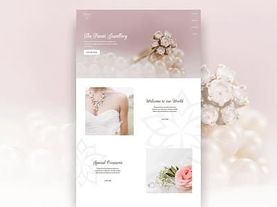 Jewellery store concept design photography wedding shop store diamonds jewellery logo branding webdesign ui creative graphic design user experience design uidesign uxdesign