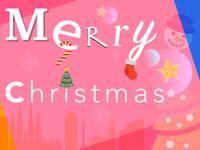 Christmas cheer illustration