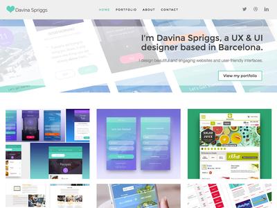 New design portfolio freelancer portfolio website user experience graphic design uidesign uxdesign