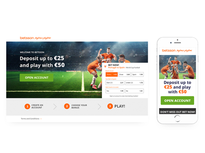 WorldCup landing page design sports betting gambling sports worldcup2018 worldcup ui ux design ui design casino webdesign iphone igaming creative app mobile graphicdesign user experience design uidesign uxdesign