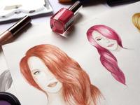 Makeup Ebook Illustration