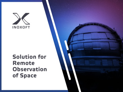 Solution for Remote Observation of Space uxdesign uidesign videoplayer appdesign web design app