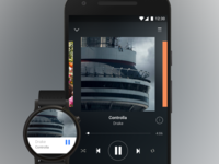 Spotify material sketch freebie