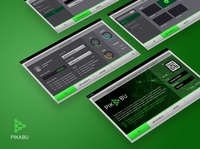 Pikabu : Desktop App. application pikabu dashboard gui uxdesign remote games