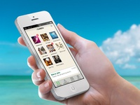 Social business app landing page (2014)