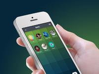 Iphone hand white1
