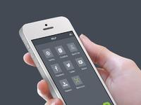 Iphone hand white6