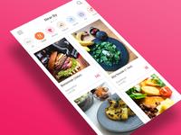 App UI : Place feed
