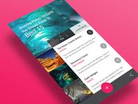 App UI : Places List