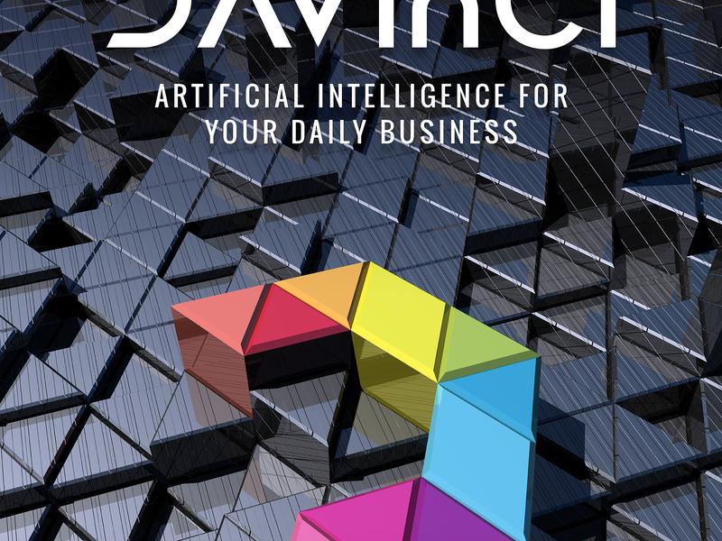 DAVinCI  : Poster symbol 3d poster design dayli intelligence promotion graphic poster ai commercial art davinci