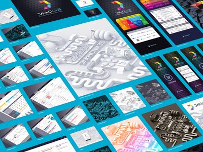 Design Resources for DAVinCILABS branding screen gui commercial art print resource web