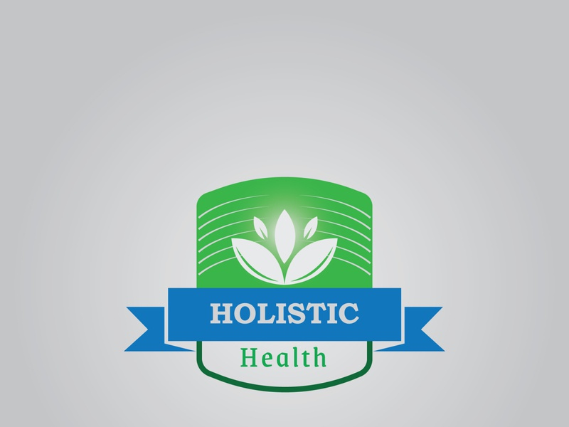 Holistic Health brand identity logodesign graphic design artist vector logo illustrator flat design art