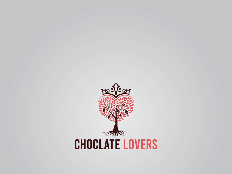 Choclate Lover logo branding illustrator designinpiration icon identity logobrand logomark digitalart designlogo