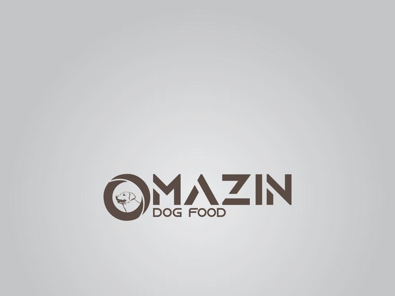 Omazin Dog Food logodesign designinpiration designlogo graphic design minimal artist branding art logo illustrator