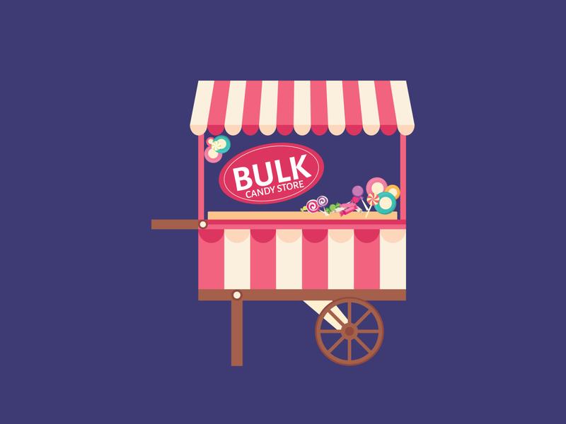 Candy Store logo designer logo illustrator graphics graphic designer graphic graphic design designlogo designer branding design branding artist art