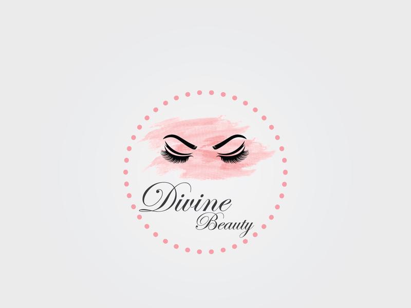 Divine Beauty enterpreneur startups start up startup designers designer graphicdesigner graphic design art logo illustrator feminine design feminine logos feminine logo feminine