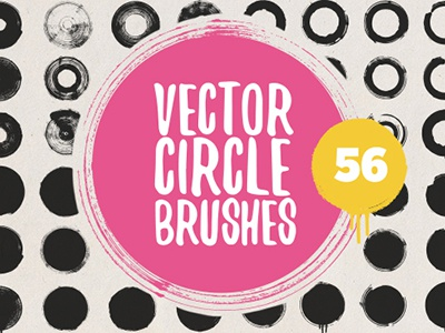 Vector circle brushes by Dobrograph on Dribbble