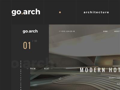go.arch architecture bureau website