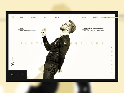 JT Website Redesign #2