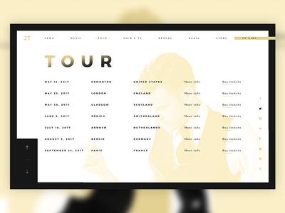JT Website Redesign #3