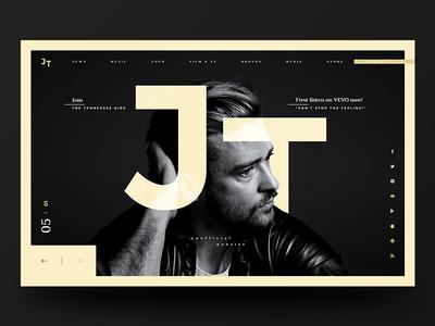 JT Website Redesign #4