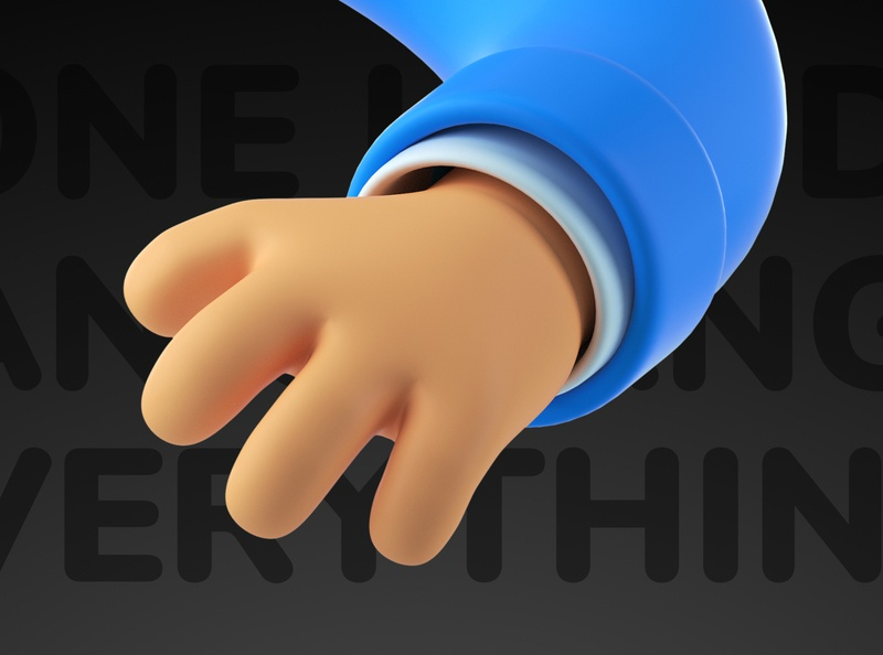 3D hands illustrations pack android awesome fuck support work feedback set friendly sweat hello handshake finger octane ios 3d art asset pack icon hands 3d