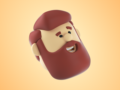 Look around, dude 3d artist party asset set pack illustration cinema4d octane fun 3d art head face loud team user icon 3d