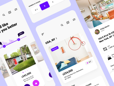 Cover of app for real estate ux ux  ui dribbble vector realestate mobile design mobile app design uxuidesign figmadesign figma