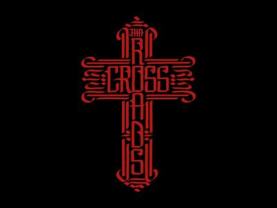 Crossroads letters lettering design calligram typography type illustration adobe illustrator philippines manila calligraphy