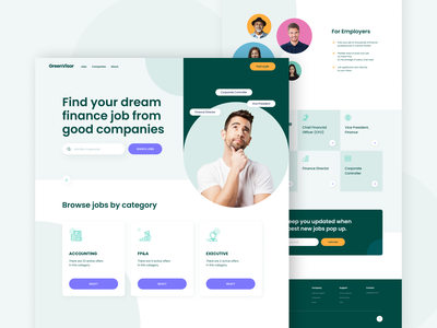 GreenVisor project ui design uidesign ux design uxdesign ux  ui uiux web design agency design art corporate website designer website website design web design vector logo digitalagency design webdesign ui illustration