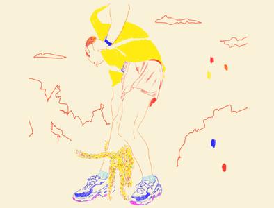 Mazunte lineart colores ilustraciondigital ilustración travel tropical illustration digital illustration colors
