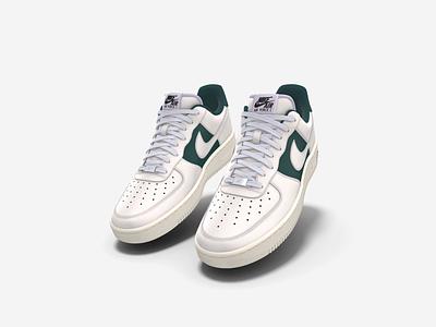 Aircall × Nike Air Force Low 1 fashion shoes nike air