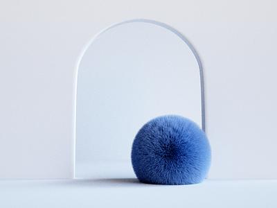 Learning 3D e01 hair abstract blender