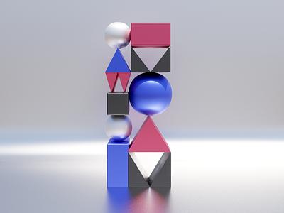 Learning 3D e02 shapes minimal blender 3d