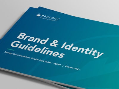 Realogy Brand Guidelines print brand guidelines brand identity marketing collateral branding design
