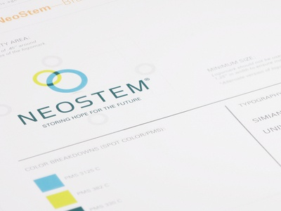 NeoStem Brand Identity
