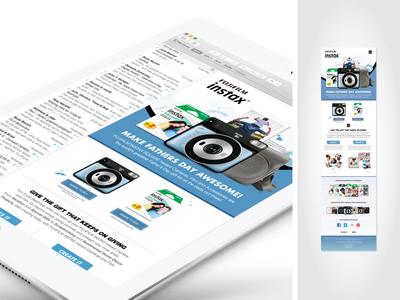FUJIFILM SQ6 Design & Marketing Collateral