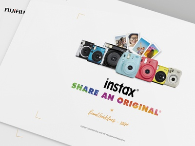 FUJIFILM INSTAX Brand Development and Marketing Collateral
