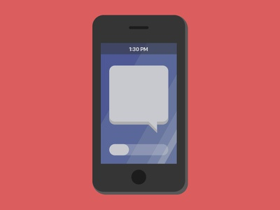 iPhone? san francisco phone minimal illustrator after effects vector