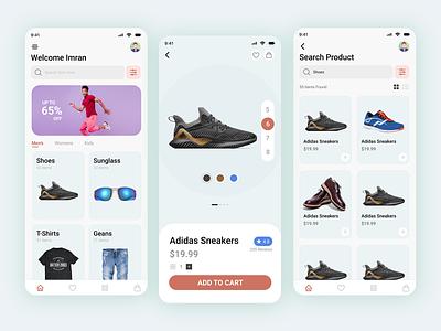 Ecommerce App UI Design figma ui design app ui ecommerce ui