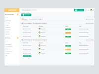Task Management Dashboard UI