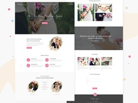 Wedding Party Website Design
